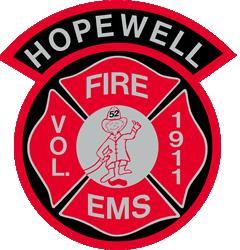 Hopewell Fire Department & Emergency Medical Unit Logo